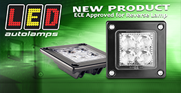 ECE Approved for 1/00 Reverse Lamp Function…