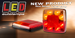Brand New Design, Small Trailer Rear Combo Lamps…